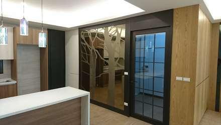 2F廚房壁面設計:  系統廚具 by 窩居 室內設計裝修