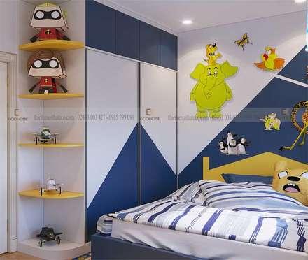 Thiết kế nội thất phòng ngủ trẻ em:  Phòng trẻ em by Công Ty TNHH Xây Dựng & Nội Thất ECO Việt Nam