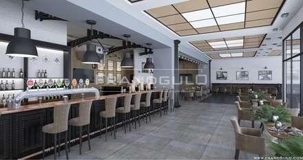 Концепт ресторана ФабрикантЪ в международном аэропорту «Симферополь»: Ресторации в . Автор – Frandgulo
