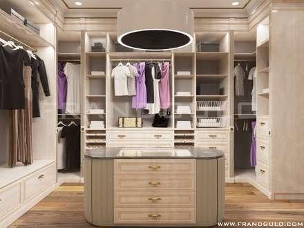 Гардеробная комната: Гардеробные в . Автор – Frandgulo