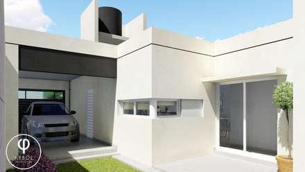 : Garajes de estilo minimalista por ARBOL Arquitectos
