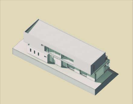 Volumen 3D: Parcelas de agrado de estilo  por BIM Urbano