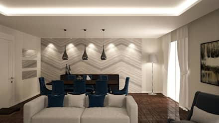 DS Design Studio – Tasarım: modern tarz Yemek Odası