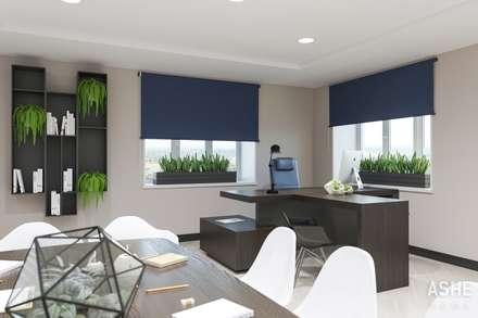 Дизайн офиса: Лестницы в . Автор – Студия авторского дизайна ASHE Home