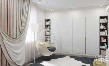 Коттедж Раевка: Детские комнаты в . Автор – Студия авторского дизайна ASHE Home