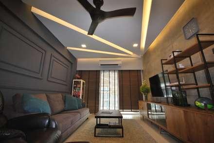 Casa Tropica: modern Living room by Hatch Interior Studio Sdn Bhd