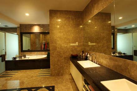 Raflessia: modern Bathroom by Hatch Interior Studio Sdn Bhd