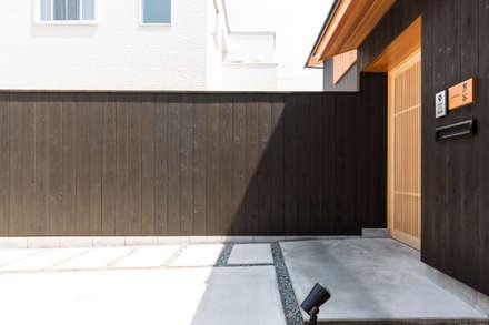 منزل خشبي تنفيذ SQOOL一級建築士事務所