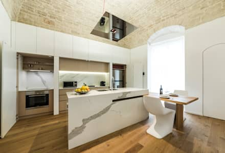 Bếp xây sẵn by marco tassiello architetto