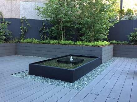 Lagoas de jardins  por La Habitación Verde