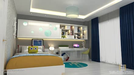 Teen bedroom by EN+SA MİMARİ TASARIM