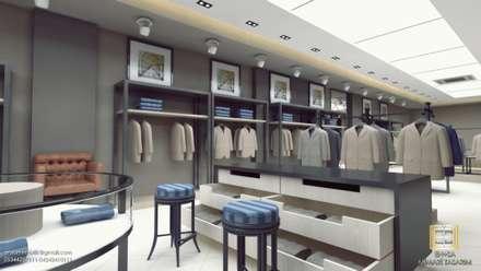 Oficinas y Tiendas de estilo  por EN+SA MİMARİ TASARIM