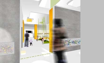KITA:  Schulen von Plan2Plus design - Architektur I Innenarchitektur I Design