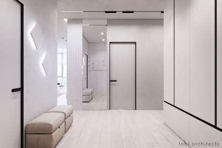 WHITE BREATH:  Flur & Diele von Tobi Architects