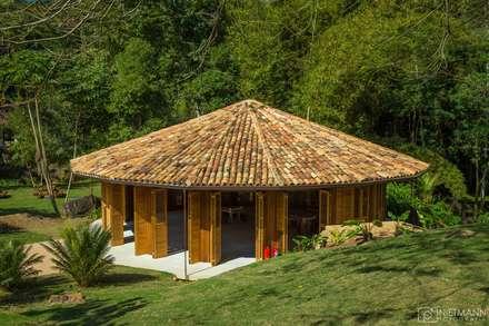 Lugares para eventos de estilo  por Flavia Machado Arquitetura