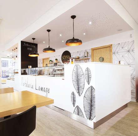 Pastelaria Lamego: Espaços de restauração  por Homestories