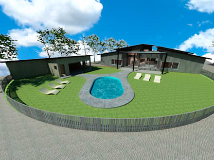 حديقة Zen تنفيذ ARquitectura
