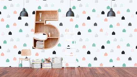 Teen bedroom by Dijivol Duvar Kağıtları