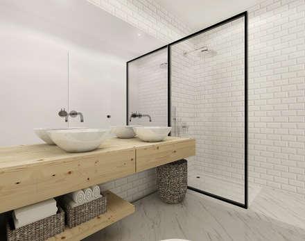 scandinavian Bathroom by Homestories