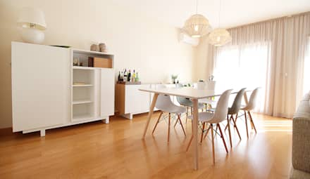 scandinavian Dining room by Homestories