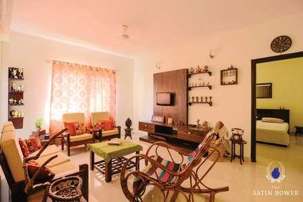 moderne Wohnzimmer von The Satin Bower
