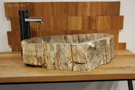 fossil bathroom sinks - Fossil Sink: scandinavian Bathroom by Lux4home™ Indonesia