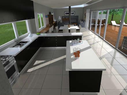 Cocinas modernas ideas im genes y decoraci n homify for Mostrar cocinas modernas
