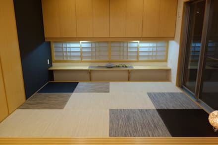 和室: Style Create   有限会社 秀林組が手掛けた和室です。