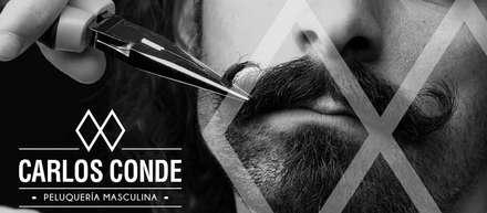 Barbería Masculina Carlos Conde: Espacios comerciales de estilo  de ADC Espacios