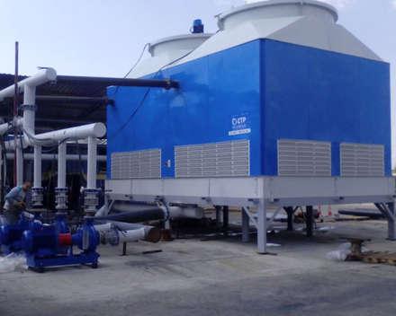 Su soğutma kulesi CTP Mühendislik – Soğutma Kulesi Cooling Towers:  tarz Havuz