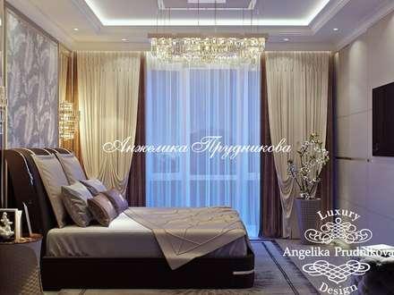 Дизайн-проект интерьера квартиры в ЖК Barkli Residence: Спальни в . Автор – Дизайн-студия элитных интерьеров Анжелики Прудниковой