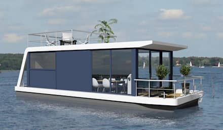 Front view:  Commercial Spaces by Nautic Living
