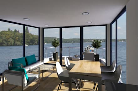 Interior:  Commercial Spaces by Nautic Living