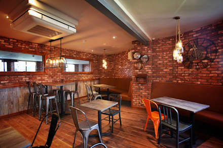 HUUB CAFE:  Commercial Spaces by NO4 DESIGN STUDIO