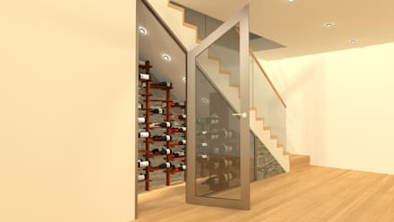 minimalistic Wine cellar by Volo Vinis