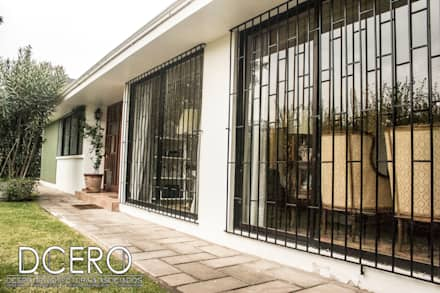 uPVC windows by Dcero Arquitectura
