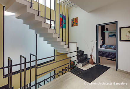 Staircase Design:  Stairs by M/S Ashwin Architects