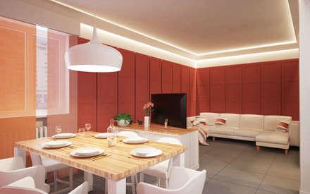 Sala da pranzo moderna idee ispirazioni homify for Sala da pranzo moderna immagini