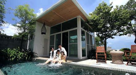 大桓設計顧問有限公司의  조립식 주택