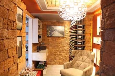 قبو النبيذ تنفيذ Deyse Porto Arquitetura
