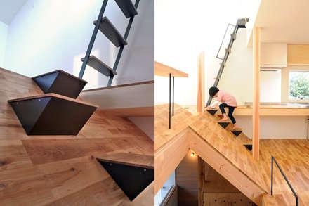 HILL HOUSE: モノスタ'70が手掛けた階段です。