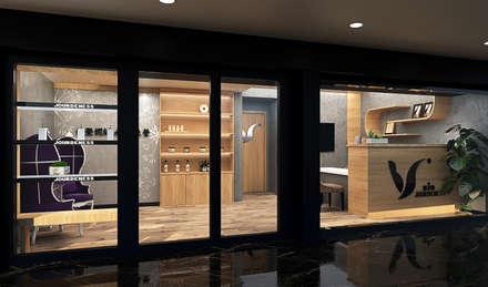 往內空間:  商業空間 by 城藝室內裝修企業有限公司