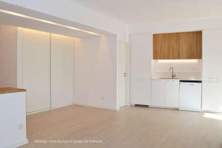 Cozinha e Sala de Estar: Cozinhas mediterrânicas por all Design  [Arquitectura e Design de Interiores]