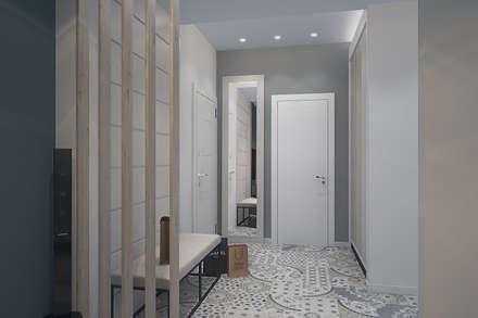 Квартира в современном стиле в Москве: Стены в . Автор – design4y