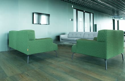 Wood flooring in A'dam Tower:  Kantoorgebouwen door Uipkes Wood Flooring