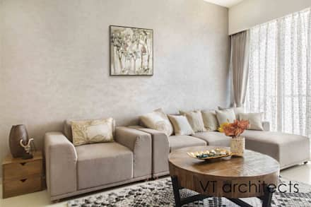 Lodha Project: modern Living room by VT architects