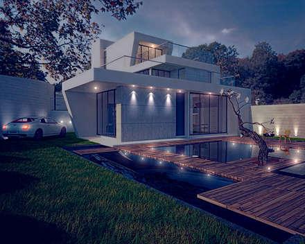 Garden Pond by 勻境設計 Unispace Designs