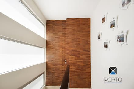 Tür von PORTO Arquitectura + Diseño de Interiores