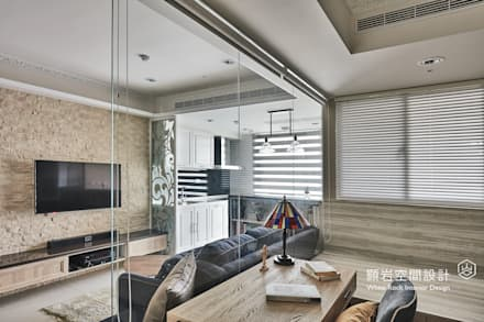 Oficinas de estilo  por 顥岩空間設計