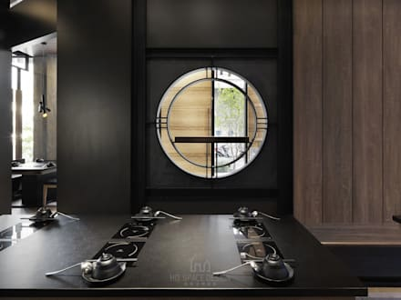 築間火鍋:  餐廳 by Ho.space design 和薪室內裝修設計有限公司